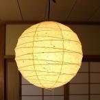 和紙 提灯 ペンダントライト 2灯 直径45cm 伝統工芸 和室 和風照明 林工芸 TP-18KK-2