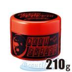 クールグリース R 210g オールバック 整髪料/リーゼントの作り方/モヒカン/サイドバック/水性ポマード