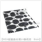 IKEA/イケア HOSTLOV テーブルランナー ホワイト/ブラック