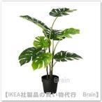 IKEA/イケア FEJKA 人工観葉植物90 cm モンステラ