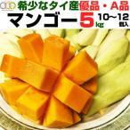 タイ マンゴー 50個限定 5kg 10個〜12個入り 送料無料 平均糖度 20 贈答品 A級 優品 タイ産 マンゴー フルーツ ギフト