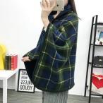 ショッピングひざ掛け ひざ掛け IPPEIGO ブランケット 着る毛布 4way 80×135cm チェック柄 冷房 防寒対策 家 オフィス アウトドア用 紐付き