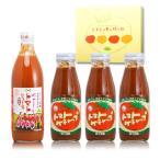 まんぞくセット ジュースx1・選べるケチャップx3 大分県荻町トマト農家めぐみ会