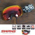 スワンズ ゴーグル SWANS [090-MDHS] (GLBK) スノーゴーグル スノーボード スキー スノボ