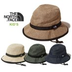 ノースフェイス キッズ ハット 帽子 THE NORTH FACE NNJ01820 KIDS' HIKE HAT サファリハット ハイクハット 折りたたみ [メール便][0402]