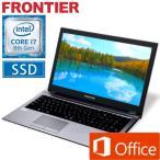 ショッピングOffice Office付 フロンティア ノートパソコン 15.6型フルHD Windows10 Core i7-8550U 8GB メモリ 525GB SSD 無線LAN FRNLKR800ML/E6 新品 FRPC