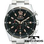 送料無料 スイスの名門 老舗腕時計ブランド TECHNOS テクノス TECHNOS テクノス メンズ腕時計 クロノグラフ T1019TH 円 ブランド 本命 デザインウォッチ