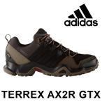 ショッピングトレッキングシューズ アディダス トレッキングシューズ ブーツ メンズ 軽量 ゴアテックス 防水 アウトドア ミッドカット ブラウン 茶 男性 adidas TERREX AX2R GTX