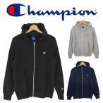チャンピオン フルジップ スウェット パーカー メンズ レディース グレー ブラック ネイビー Champion FULL ZIP SWEAT PARKA C3-LS150