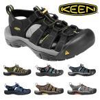 キーン ニューポート H2 メンズ サンダル シューズ 靴 アウトドア フェス コンフォートサンダル KEEN NEWPORT H2 黒 ブラック ネイビー オリーブ ブラウン