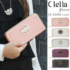 ショッピングラメ 長財布 レディース ラウンドファスナー 大容量 ブランド ラメ フェイクレザー ロングウォレット Clelia CL-22326