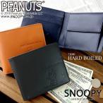 財布 レディース 折り財布 スヌーピー 二つ折り レザー 本革 牛革 ショートウォレット PEANUTS 73080