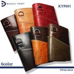 財布 二つ折り レディース 二つ折り財布 ミドル財布 本革 キップレザー 革 多収納 大容量 KYP-601