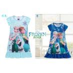 アナと雪の女王のガールズドレス、アナとエルサのコスチュームドレス、2歳〜8歳、90cm〜140cm、ディズニー■kids110