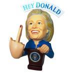 ショッピングmiddle ゲーム:アクションフィギュア&彫像:アクションフィギュア:バットマン Hillary Clinton FU.. YOU Donald Trump Bobble Middle Finger Bobblehead - Election