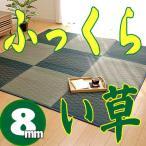Yahoo!京都のインテリアのお店平安い草ラグ お買い得♪ウレタン8mm ふっくらい草 「NFXダイヤ」 約190x190cm ブルー
