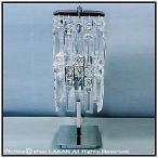 クリスタルグラス 2灯卓上ランプ / ベンジャミン社 0931-T261C-2