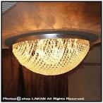 クリスタルレース12灯直付けシーリング クリスタルタイプ / クリスタル照明 1015-6968-12