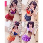 美少女戦士 コスプレ衣装 Sailor Moon セーラームーン レディース ビキニ  sexy下着 女性 コスチューム 変装 学園祭 セクシー 大人用 仮装 ak003w1w1d3