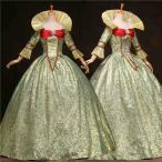 ゴシック イギリス ヴィクトリア時代 貴族服 舞台 衣装 ドレス コスプレ ゴシック イギリス 豪華ドレス パーティー コスチュームda048c0c0q2
