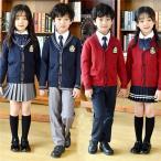 卒業式 スーツ 入学式 カーディガン キッズ フォーマル 女の子 男の子 子供 キッズスーツ 小学生 中学生 大きいサイズ 七五三 4点セット