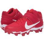 ナイキ 野球 スパイク 海外 Alpha Huarache Varsity Keystone Mid - University Red/White/Gym Red