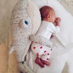 ぬいぐるみ 抱き枕 ベビー ベッドガート ノットクッション サイドガード ふわふわ ベビー 子供用 赤ちゃん ソファークッション 布団落下防止 部屋飾り 撮影北欧