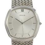 本物保証 セイコー SEIKO クレドール メンズ クォーツ 腕時計 7771 5040