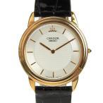 本物保証 美品 セイコー SEIKO クレドール メンズ クォーツ 腕時計 18K 8J80 7020