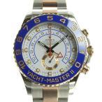 本物保証 超美品 ロレックス ROLEX ヨットマスター2 メンズ オートマ 腕時計 116681