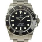 本物保証 超美品 ロレックス ROLEX サブマリーナ ノンデイト メンズ 自動巻き 腕時計 114060 ランダム番