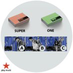 【VER選択|アジア盤|ポスター5種折畳+ポスター1種付|全曲和訳】SuperM SUPER ONE 1st Full Album Super M 正規 1集 アルバ【レビューで生写真5枚|送料無料】