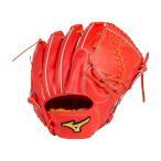 ショッピング安い ミズノプロ 硬式 野球 グラブ グローブ 投手用 スピードドライブテクノロジー 1AJGH14201 52 スプレンディッドオレンジ 新製品 新色