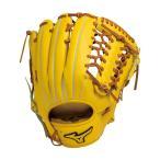 ショッピング安い ミズノプロ 硬式 野球 グラブ グローブ 外野手用 スピードドライブテクノロジー 1AJGH14207 47 ナチュラル