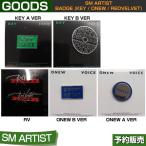[SM ARTIST BADGE] SHINee(2Type) onew / key / REDVELVET / SUM DDP / 1901sn /1901rv / 1��ͽ��