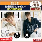 2������/ ELLE 7���(2018) ɽ����ӥ塼:KANGDANIEL / KAI / �֥�ޥ��ɴݤ��ȯ��/1��ͽ��
