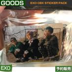 EXO CBX STICKER PACK / SM SUM ARTIUM DDP /1次予約