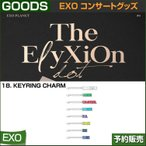 18. KEYRING CHARM / EXO THE PLANET#4 OFFICIAL GOODS  / 1807exo /2��ͽ��