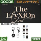 9. VOICE KEYRING / EXO THE PLANET#4 OFFICIAL GOODS / 1807exo /2次予約
