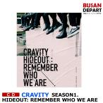 Yahoo!BUSAN DEPART Yahoo!店ポスター無しでお得 3種選択 CRAVITY SEASON1. [HIDEOUT : REMEMBER WHO WE ARE] 韓国音楽チャート反映 日本国内発送 和訳つき 1次予約 送料無料