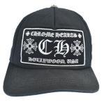 CHROME HEARTS (クロムハーツ) TRUCKER CAPCHプラスパッチ トラッカーキャップ ブラック 帽子