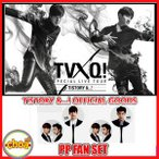東方神起 うちわ TVXQ! SPECIAL LIVE TOUR IN SEOUL T1STORY &...! アンコールコンサート公式グッズ☆ポストカード付