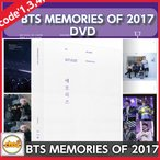 BTS MEMORIES OF 2017 DVD 5DISK code1,3,4,5 +PHOTOBOOK+PAPERFRAME+PHOSTCARD+PHOTOCARD ���ƾ�ǯ�� bantan