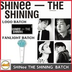 [SHINee] THE SHINING バッチ MINI LIGHT,LOGO 2018 SHINee SPECIAL PARTY OFFICIAL GOODS