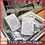 東方神起 [ SUM:TVXQ! ] ピンバッチ ALBUM SURISURI PIN 公式グッズ