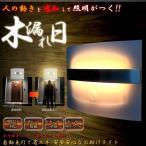即納 人感センサー LEDライト 間接照明 明るさセンサー 省エネ 安全 インテリアライト 壁付け対応 ET-KOMOREBI