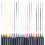 知育教育 水筆ペン 絵筆 水彩毛筆 水性ペン セット 20色セット 水性マーカー 水彩 筆ペン カラーペン 水彩筆 収納ケース付き MIZUPEN20