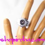 指輪時計 リングウォッチ フィンガーウォッチ シルバー マルチライン 指時計 黒 piko 小