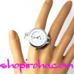 指時計 極細ゴールドチェーン 鎖式指輪時計28 shopiroha.com RingClock フィンガーウォッチ リングウォッチ