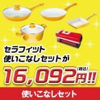 セラフィット フライパン 使いこなしセット スベール すべーる 両手鍋 IH対応 ショップジャパン 調理器具  24cm 20cm ガラス 蓋
